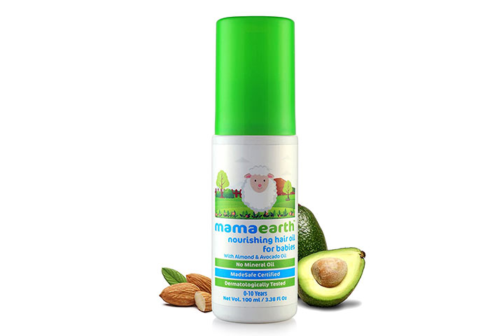 Mamaarth Nursing Hair Oil for Babies