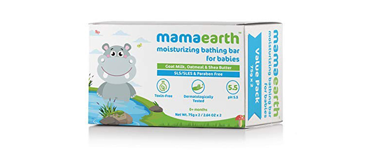Mamaearth Moisturizing Baby Bathing Soap Bar