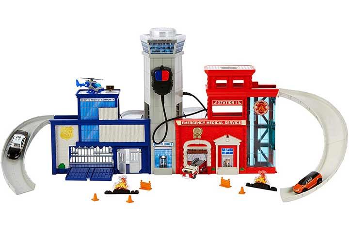 Matchbox Rescue Headquarters Playset