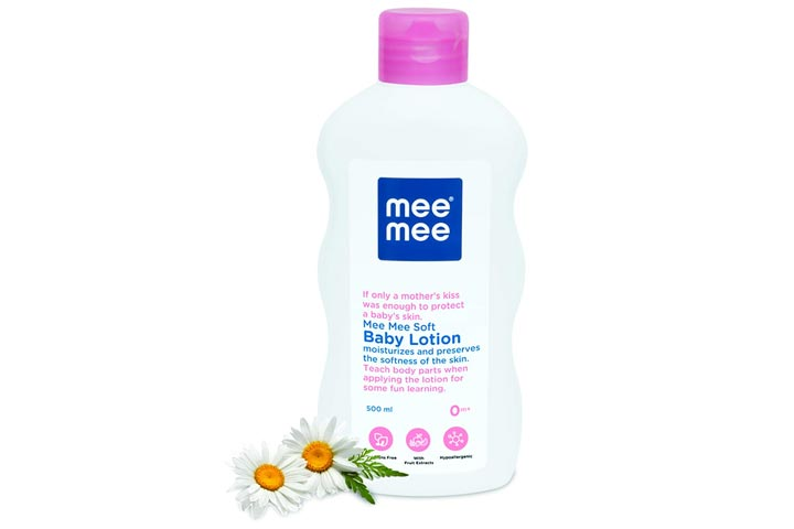 Me baby baby lotion with fruit extract