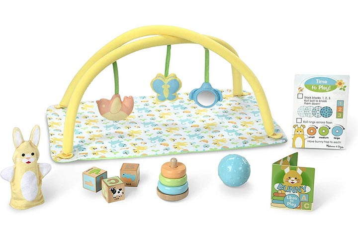 Melissa & Doug Mine To Love Toy Time Playset