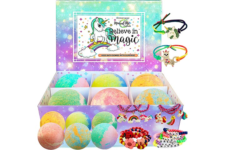 Mineral Me Unicorn Bath Bombs