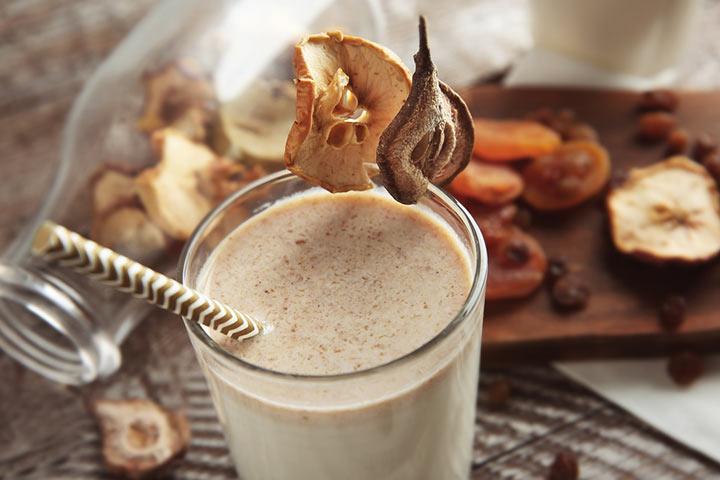 Mix Dry Fruit Milkshake