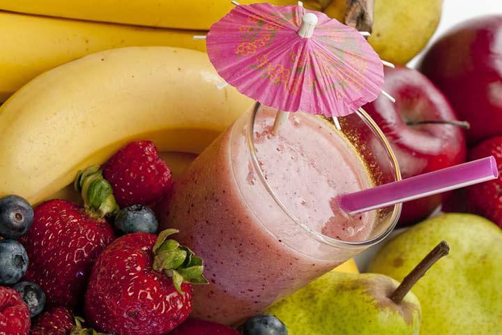 Mix Fruit Milkshake