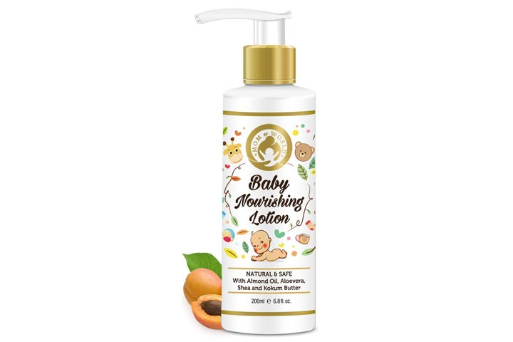 Mom And World Baby Nourishing Lotion