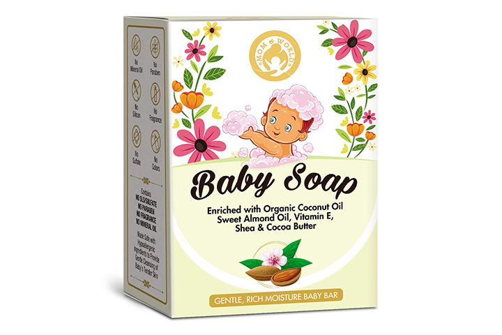Mom & World Extra Soft Natural Baby Soap