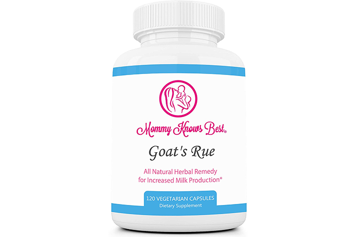 Mommy Knows Best Goat's Rue Lactation Supplement