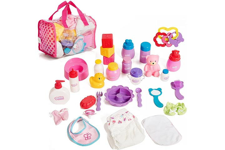 Mommy & Me Doll Collection Baby Doll Care Set