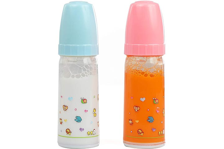 Mommy & Me Doll Collection Magic Baby Bottles
