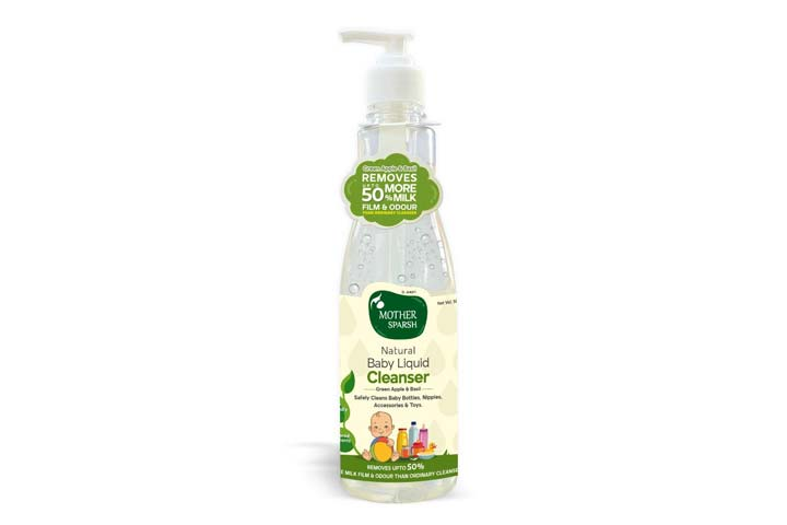 Mother Sparsh Natural Baby Liquid Cleanser