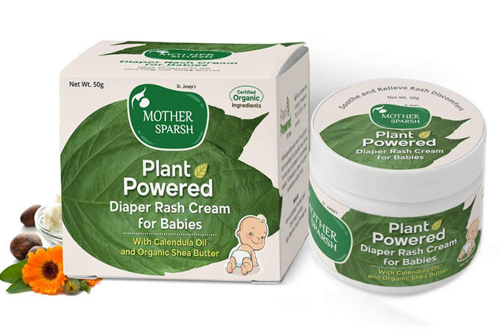 Mother Touch Plant Powered Diaper Rash Cream