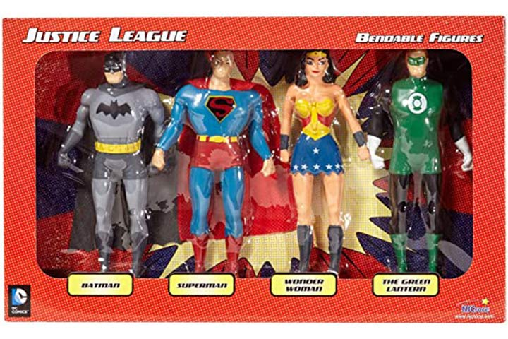 NJ Croce Justice League Bendable Boxed