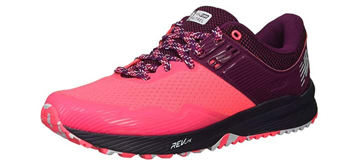 New Balance Womens Nitrel V2 FuelCore Trail Running Shoe