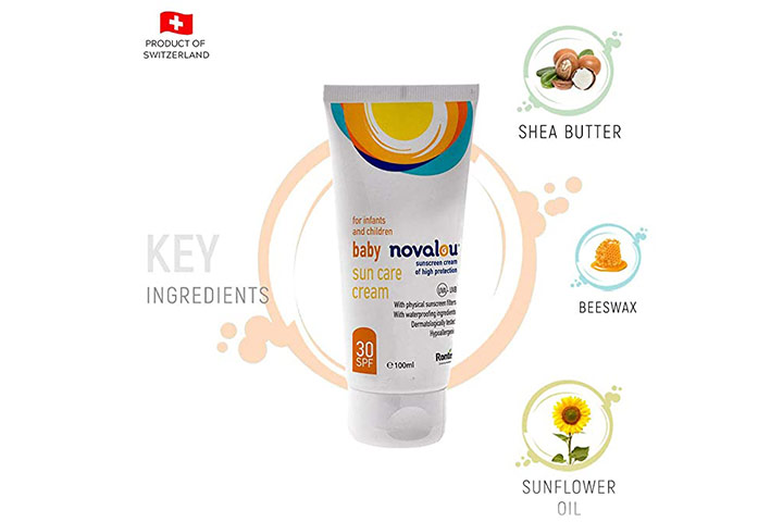 Novelau Infants and Baby Mineral Based Sun Screen SPF 30