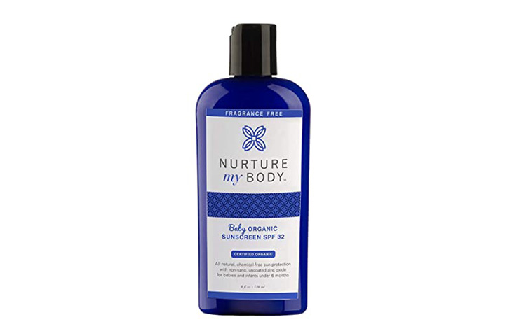 Nurture My Body Organic Baby Sunscreen - SPF 32