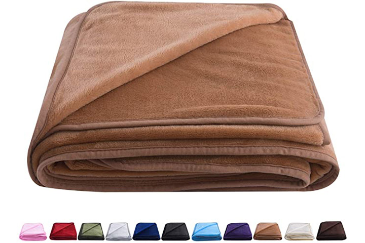 Oboey Polar Fleece Blanket