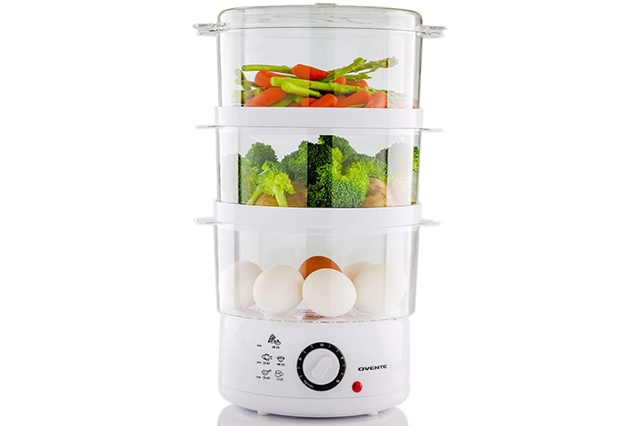 Ovente Electric Food Steamer