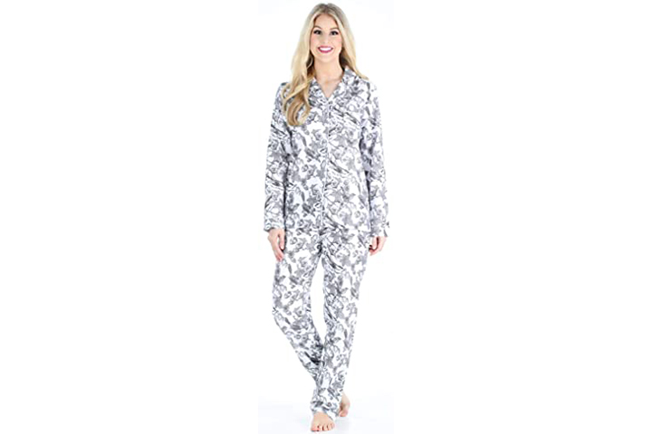 Pajama Mania Women's Cotton Flannel Long