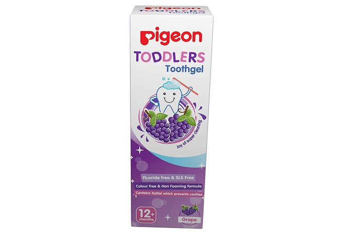 Pigeon Toddler Toothgel, Grapes