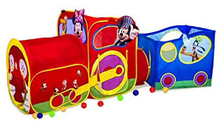 Play hut Mickey Mouse Train