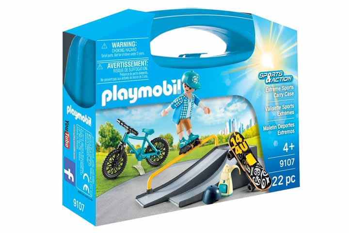 Playmobil Extreme Sports Case