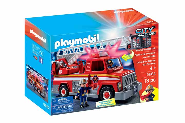 Playmobil Rescue Ladder Set