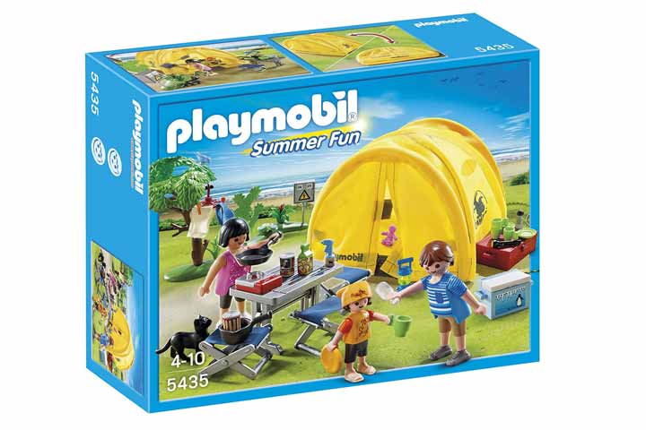 Playmobil Summer Fun Camping Trip