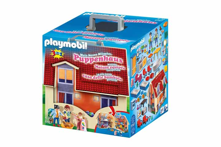 Playmobil Take Along Modern Dollhouse