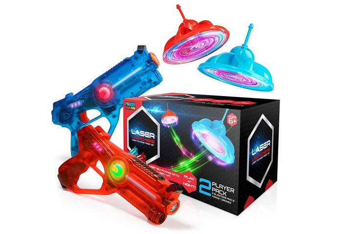 Power Your Fun Laser Launchers Laser Tag Set