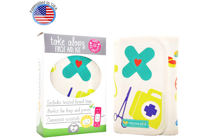 Prepara Kit Compact Baby Travel First Aid Kit