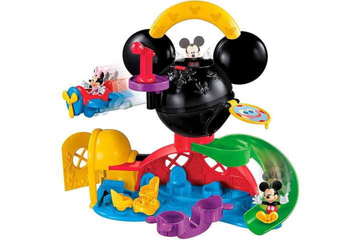 Price Disney Mickey Mouse Fly 'N Slide Clubhouse