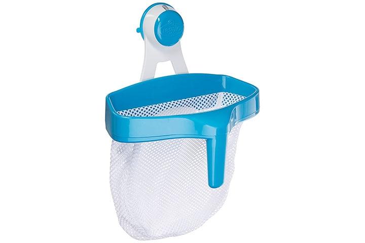Regalo Super Suction Bath Toy Scoop Drain & Organizer