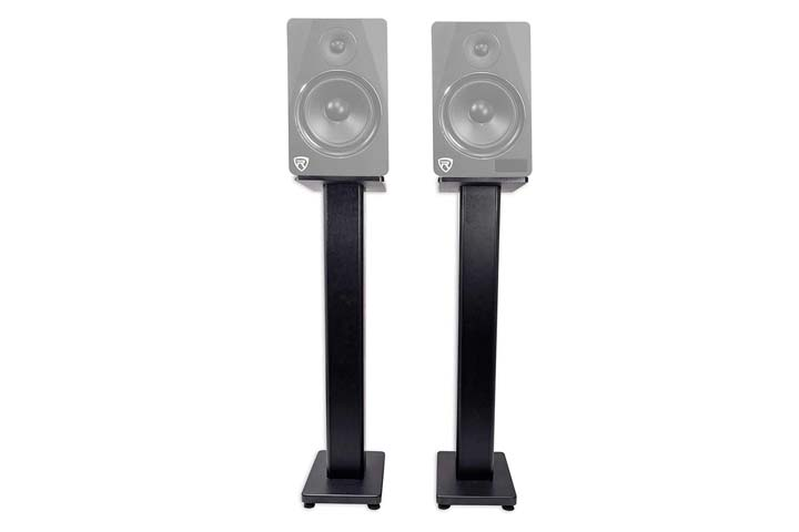 Rockville Bookshelf Speaker Stand
