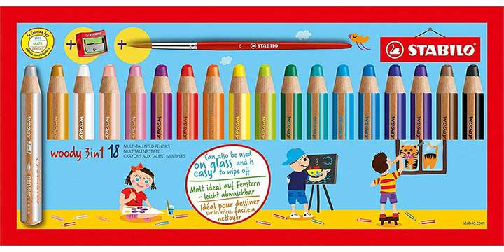 STABILO Woody Multi-talented Pencil Set