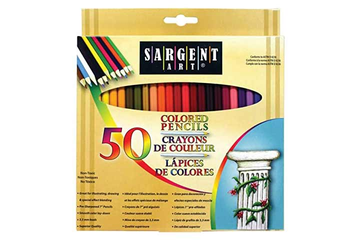 Sargent Art Premium Coloring Pencils