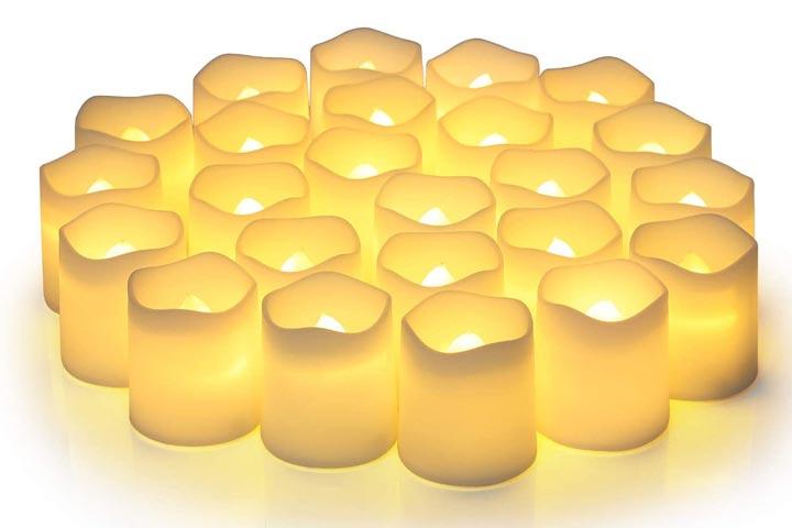 Shymery Flameless Votive Candles
