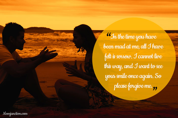 Emotional Sorry Messages For Husband