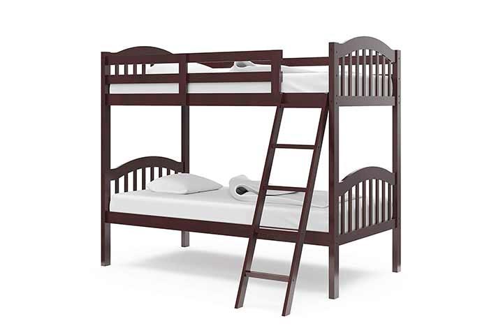 StorkCraft Long Horn Twin Bunk Bed