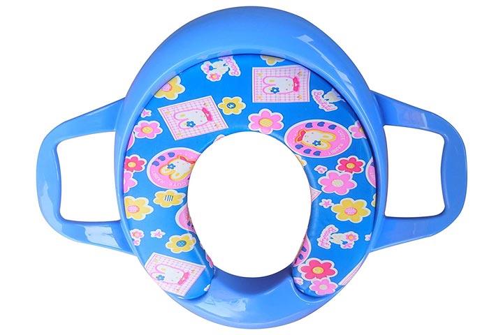Sunbebi Blue Ocean Soft Cushion Baby Potty Seat