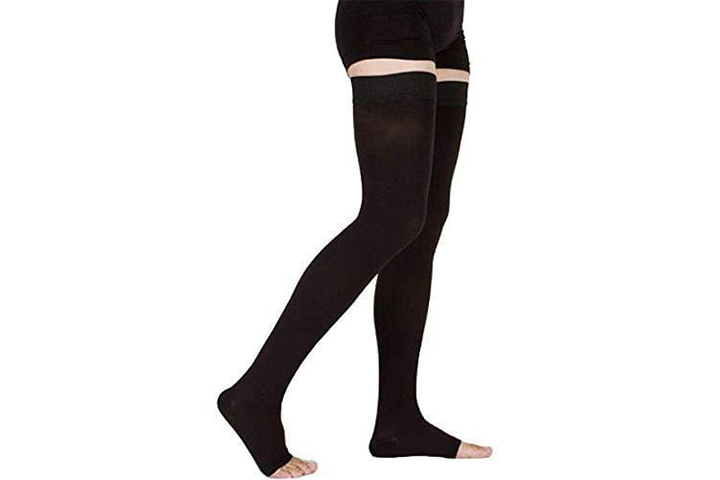 TOFLY Thigh High Compression Stockings