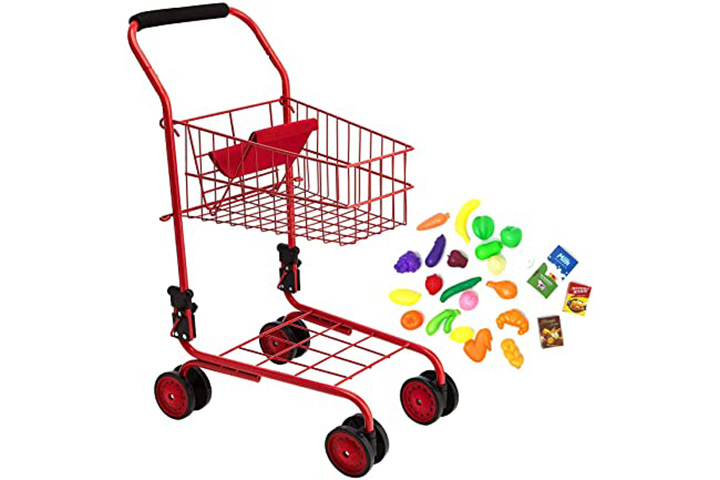 The New York Doll Collection Toy Shopping Cart