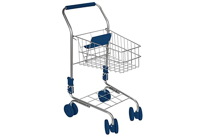 Toy smith Kid's Miniature Shopping Cart