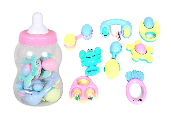 Toys Land 2 in 1 Baby Rattle Toys