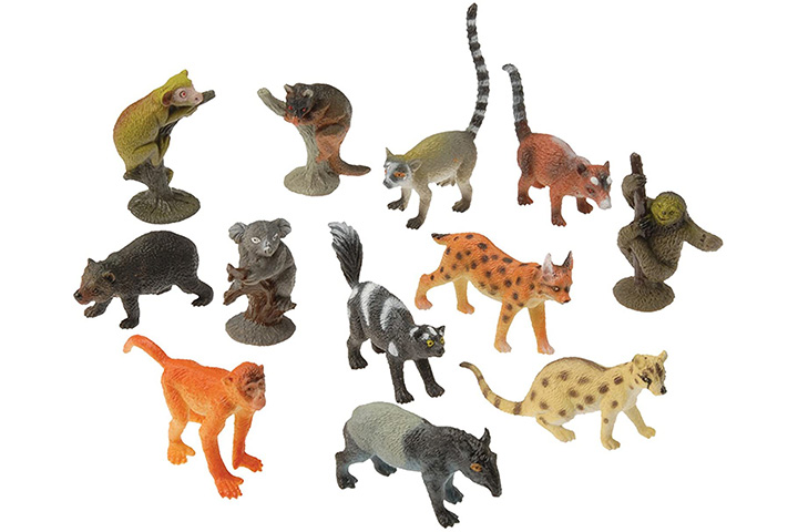 U.S. Toy Assorted Rain Forest Animal Figures