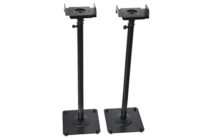 VideoSecu Heavy Duty Satellite Speaker Stand