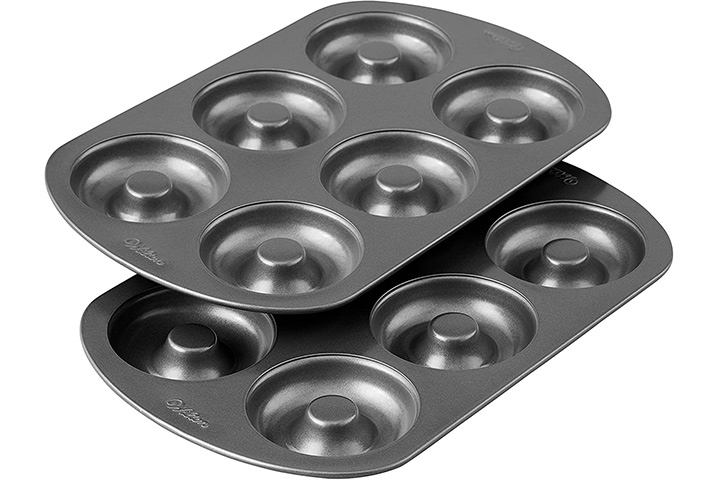 Wilton Nonstick 6-Cavity Donut Baking Pans