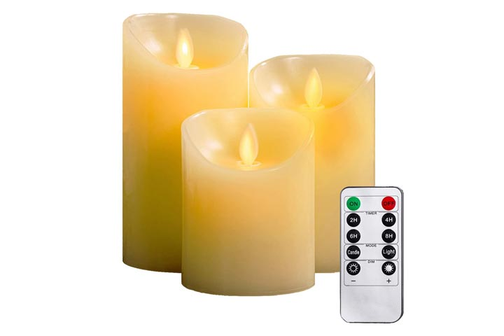Yiwer Flameless Candles