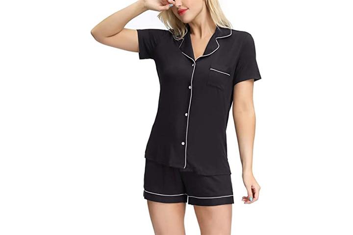 Zexxxy Women's Cotton Sleepwear Pajama Set