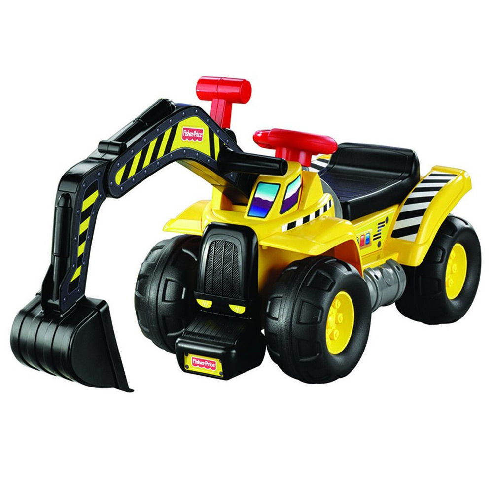 fisher price big action dig n ride