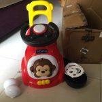 Babyhug Fun N Learn Ride-On With Storage Space & High Backrest-Wonderful-By jayasree0806